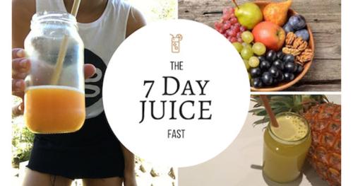 7-Day Juice Fasting Program