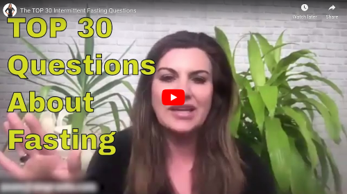 Top 30 Questions People Ask About Intermittent Fasting Video