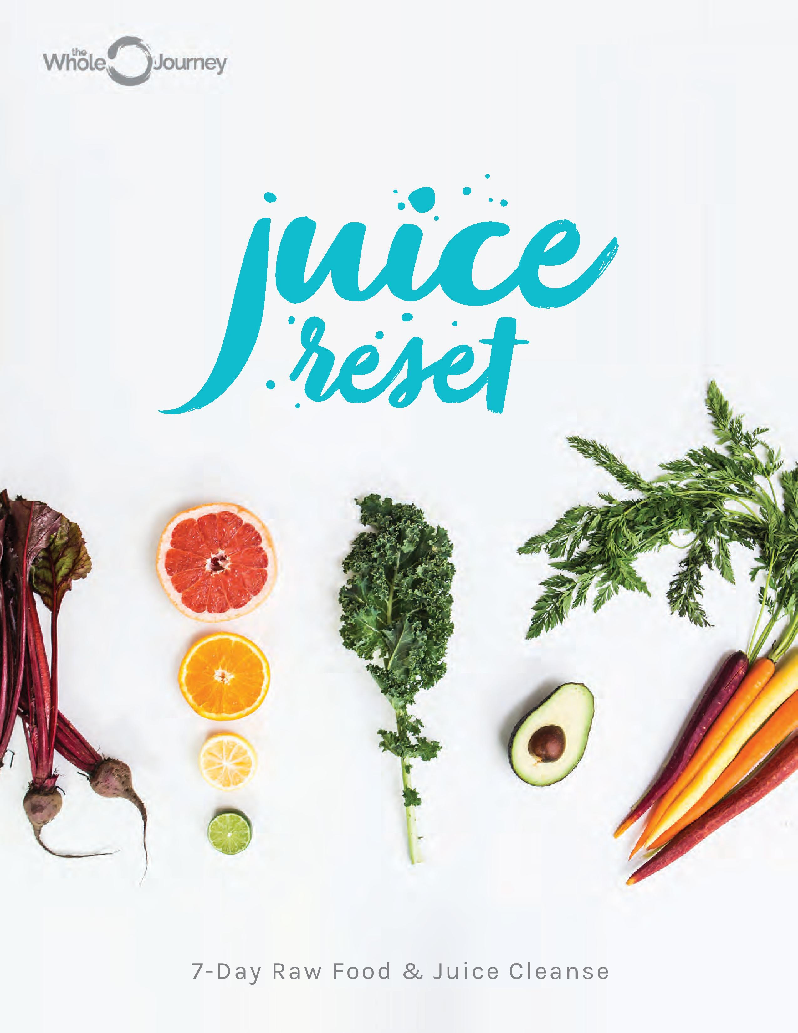 7-Day Raw Food & Juice Cleanse eGuide