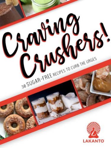 Craving Crushers! Discover how you can deliciously curb the urges with Lakanto's sugar-free monk fruit sweeteners.