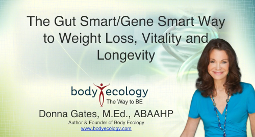 The Gut-Smart/Gene-Smart Way to Vitality & Longevity eCourse