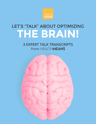 """Let's """"Talk"""" About OPTIMIZING THE BRAIN eBook"""