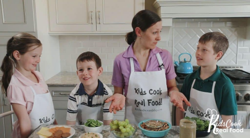 Kids Cook Real Food - Healthy Snacks Skill Lab
