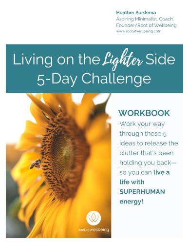 Living on the Lighter Side 5-Day Challenge eWorkbook