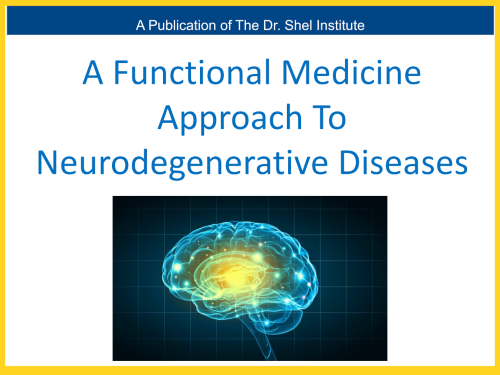 A Functional Approach to Neurodegenerative Diseases eBook