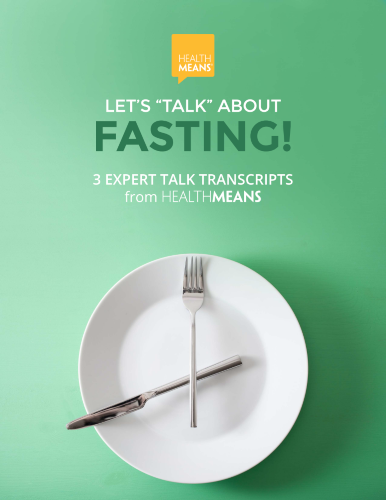 """Let's """"Talk"""" About FASTING eBook"""