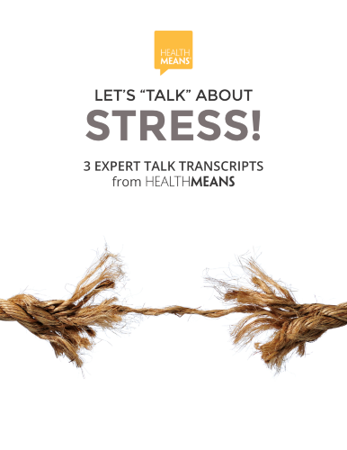 "Let's ""Talk"" About STRESS eBook"