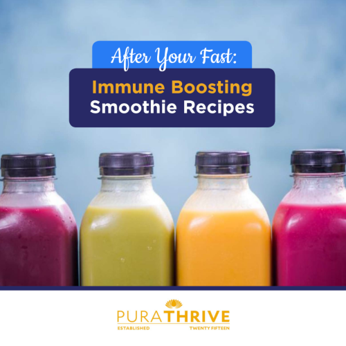 Kickstart your immune system -- AFTER your fast!