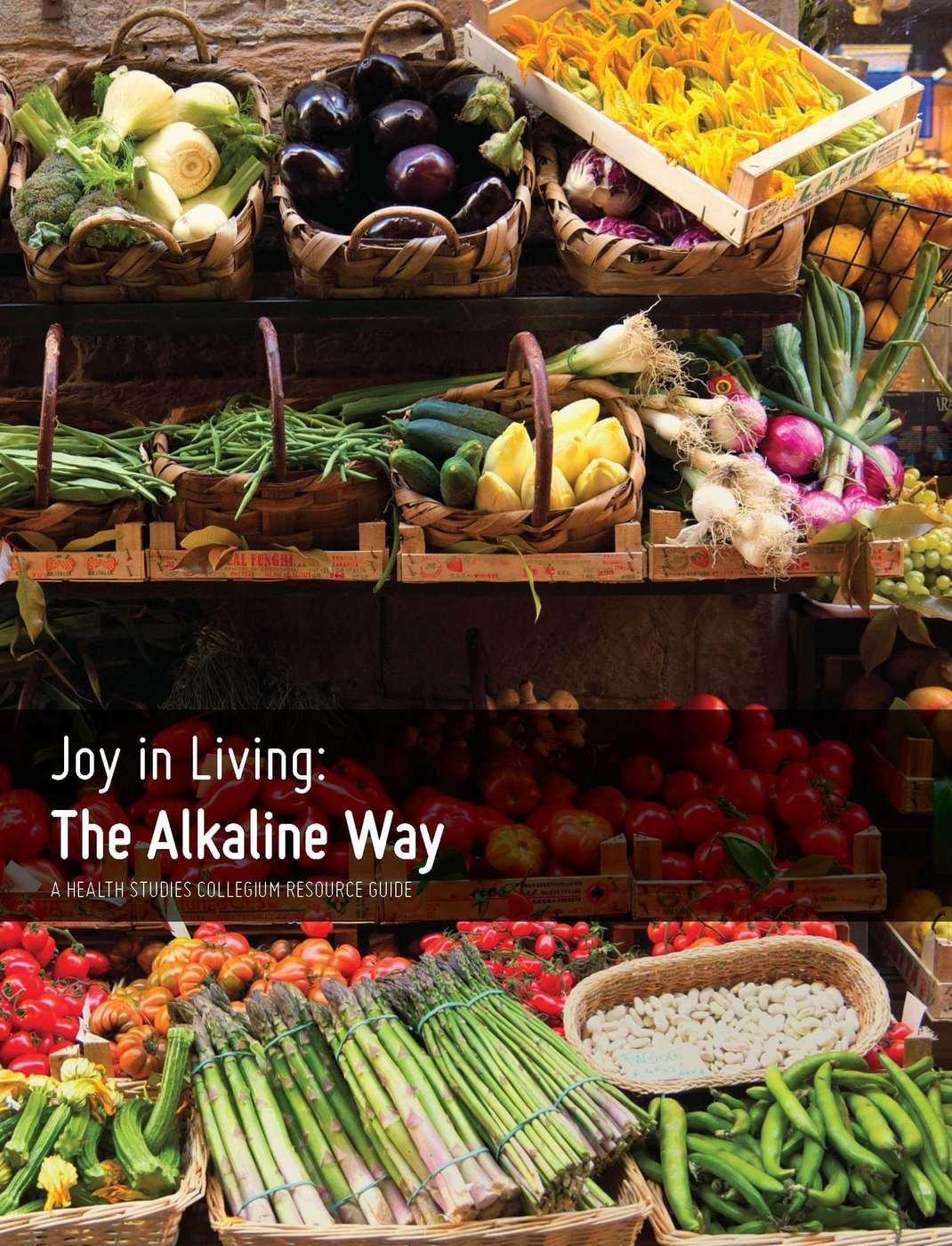 Joy in Living: The Alkaline Way eGuide
