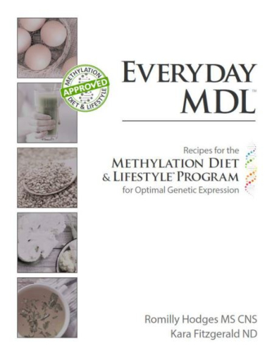 Recipes for the Methylation Diet & Lifestyle Program for Optimal Genetic Expression eBook