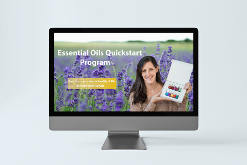 Essential Oils Quickstart Online Program